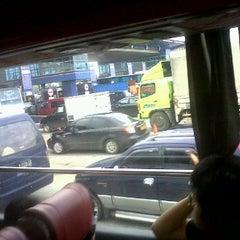 Photo taken at Gerbang Tol Jati Bening by yadiroquai on 12/26/2011
