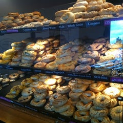 Photo taken at Portland Bagel Company by Michele F. on 7/21/2011