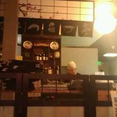 Photo taken at Tokoro Japanese Restaurant by Mia F. on 1/18/2012