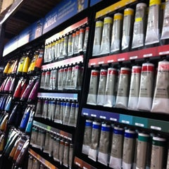 Photo taken at Blick Art Materials by Tracey S. on 8/28/2011