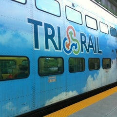 Photo taken at Tri-Rail - Boca Raton Station by Jeff K. on 8/8/2011