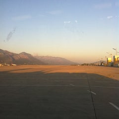 Photo taken at Dubrovnik Airport (DBV) by Benjamin Meukow L. on 7/25/2012