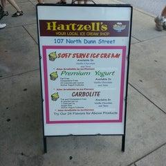 Photo taken at Hartzell's Ice Cream by Ryan on 8/19/2012