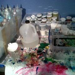 Photo taken at Weber's Tie dye by Eldon W. on 12/1/2011
