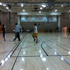 Photo taken at Walnut Gymnasium - Teen Center by Ryan T. on 10/27/2011