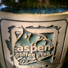 Photo taken at Aspen Coffee and Tea by mary kay S. on 2/23/2012