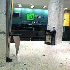 Photo taken at TD Bank by Kashayia G. on 9/11/2011