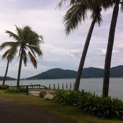 Photo taken at Marina Island Jetty Complex by Ayu Fieda on 12/12/2011