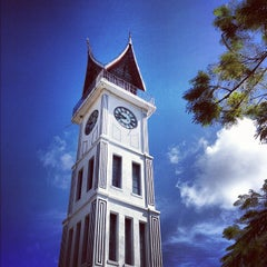 Photo taken at Jam Gadang by Jessica S. on 5/30/2012