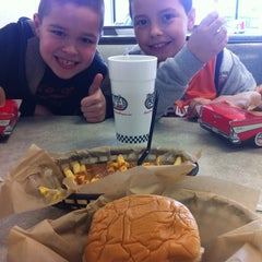 Photo taken at Andy's Burgers Shakes & Fries by Preston L. on 3/4/2012