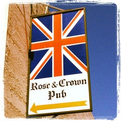 Photo taken at The Rose & Crown Pub by John P. on 7/3/2012