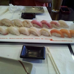 Photo taken at Sushi Ajito by Amanda on 12/17/2011