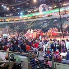 Photo taken at Cedar Park Center by Mike S. on 1/14/2012