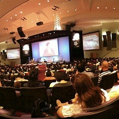 Photo taken at Damansara Utama Methodist Church (Dream Centre) by Eric H. on 1/23/2011