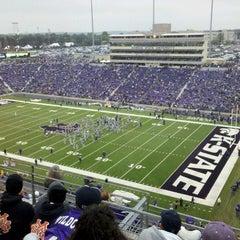 Photo taken at Bill Snyder Family Stadium by Steven V. on 9/17/2011