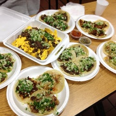 Photo taken at King Taco by Jeanne K. on 2/19/2012