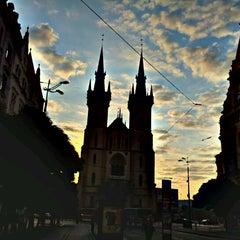 Photo taken at Strossmayerovo náměstí (tram) by Marie m. on 9/16/2011