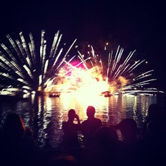 Photo taken at IllumiNations: Reflections of Earth by John D. on 12/7/2011