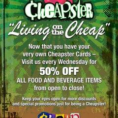Photo taken at Cheap by Cheap on 8/11/2012