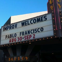 Photo taken at Improv Comedy Club by Corelicious M. on 9/1/2012