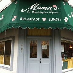 Photo taken at Mama's on Washington Square by 재향 이. on 2/1/2012