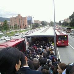 Photo taken at TransMilenio: Pepe Sierra by Manuel F. on 5/2/2012