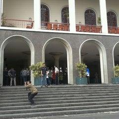 Photo taken at Gedung Pusat UGM by Danang Wicaksono Ardhi on 9/5/2011