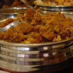 Photo taken at Meghana Foods by manu p. on 3/4/2012