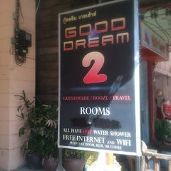 Photo taken at Good Dream Guest House by Hazwan H. on 7/16/2012