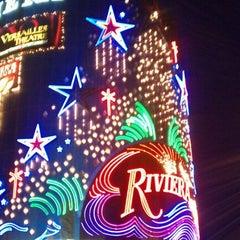Photo taken at Riviera Hotel & Casino by Tim B. on 6/6/2011
