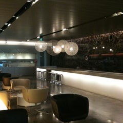 Photo taken at The Qantas Singapore Lounge by Maree O. on 9/18/2011