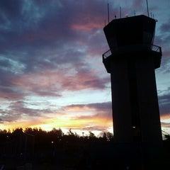 Photo taken at Bellingham International Airport (BLI) by Laura T. on 11/14/2011