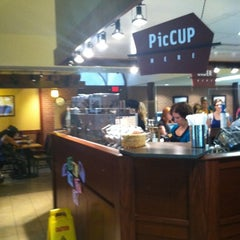 Photo taken at Caribou Coffee by Ashleigh R. on 8/23/2011
