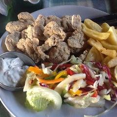 Photo taken at Brittos Bar & Restaurant by Вячеслав А. on 2/6/2012