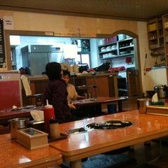 Photo taken at 태릉 닭한마리 by Ashley Y. on 3/17/2011