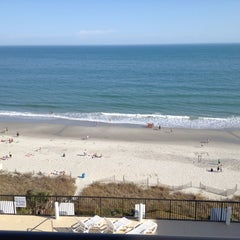 Photo taken at Grande Shores Ocean Resort by Devin W. on 3/16/2012