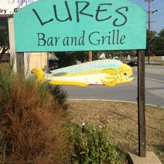 Photo taken at Lures Bar And Grille by Chris D. on 7/5/2012
