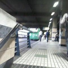 Photo taken at Estación Intermodal Bellavista de la Florida by Isaias G. on 3/12/2012