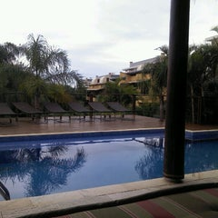 Photo taken at Pousada Vila Tamarindo Eco Lodge by Diego d. on 9/9/2012