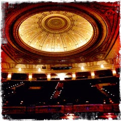 Photo taken at Palace Theatre by Ilovetapatio on 3/25/2012