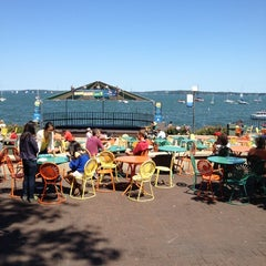 Photo taken at Memorial Union Terrace by Jon K. on 8/11/2012