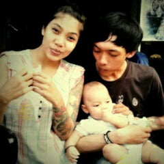 Photo taken at RAVENTH Tattoo Studio by budiiman a. on 6/3/2012