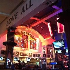 Photo taken at Hard Rock Cafe Las Vegas at Hard Rock Hotel by Ana R. on 2/22/2012