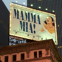 Photo taken at Broadhurst Theatre by Ferdinando on 4/29/2012
