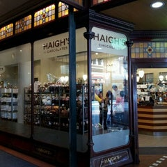 Photo taken at Haigh's Chocolates by AA M. on 4/10/2012