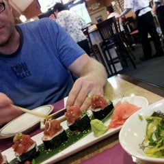 Photo taken at Yamato Sushi by Chachung C. on 3/20/2012