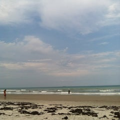 Photo taken at Cocoa Beach by Jason W. on 5/9/2012