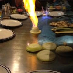 Photo taken at Fujiyama Steak House of Japan by Keith S. on 3/14/2012