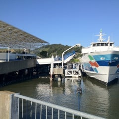 Photo taken at Golden Gate Larkspur Ferry Terminal by Scott F. on 5/12/2012