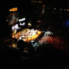 Photo taken at Wells Fargo Arena by Nick T. on 4/18/2012